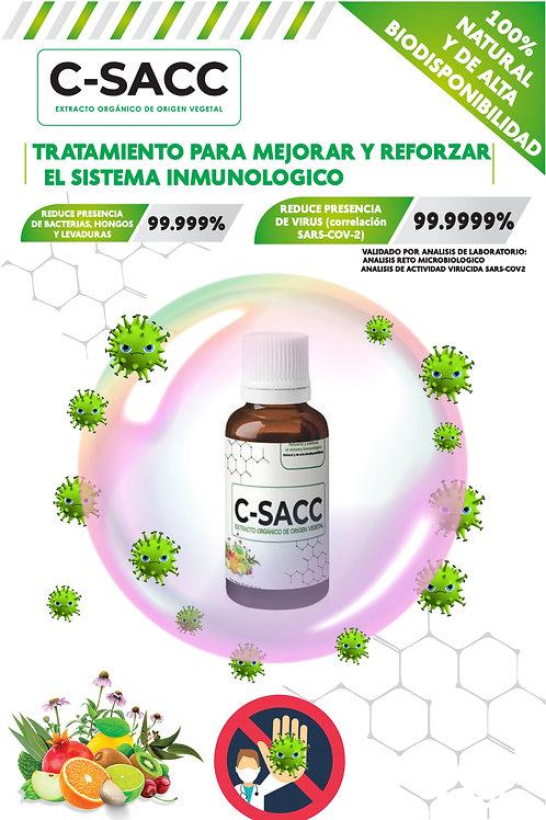 C-SACC Extracto Orgánico de Origen Vegetal