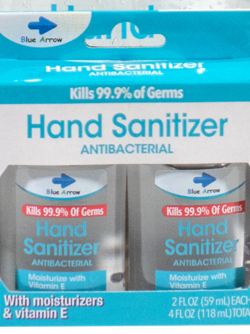 Hand Sanitizer 2oz (Pack of two)