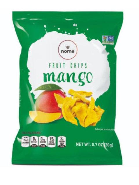 Mango Chips 0.7oz (Pack of 12) Vegan, Gluten Free, NON-GMO