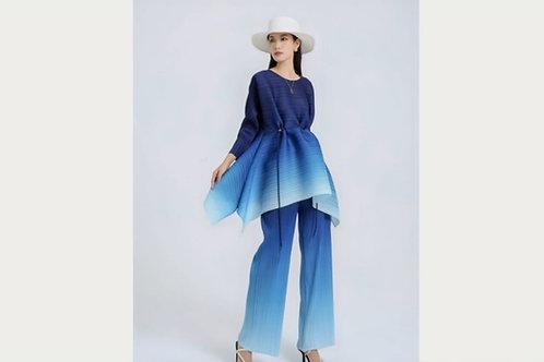 2 pc embre' pants set, comes in blue, purple, gray