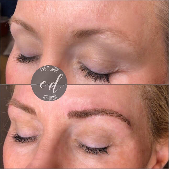 Blonde Microblading Initial Session