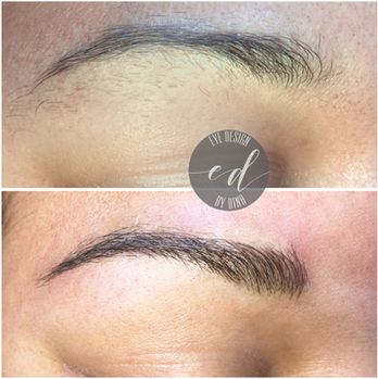 Initial Microblading Session