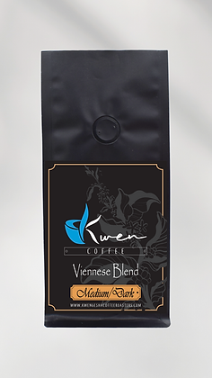 Viennese Blend Medium & Dark Roast 12oz.