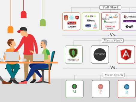 Most Popular Technology Stack To Choose From: FULL Stack vs MEAN Stack vs MERN Stack in 2020