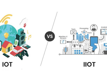 What is IIoT and How is it different from IoT? Industry 4.0?