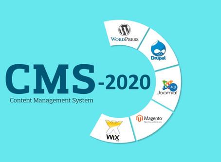 Best CMS Platforms to Start a Website in 2020