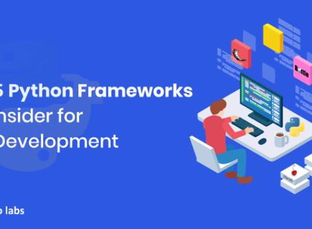 Best Python Frameworks for Web Development