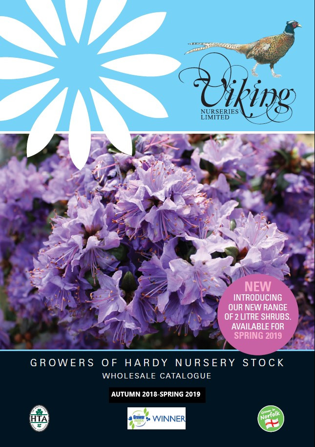 Viking Nurseries 2018-2019 Catalogue to be launched at the HTA National Plant Show 2018