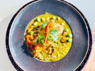 Aguadito de Pollo ( Soup )