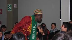 Storyteller Usifu Jalloh