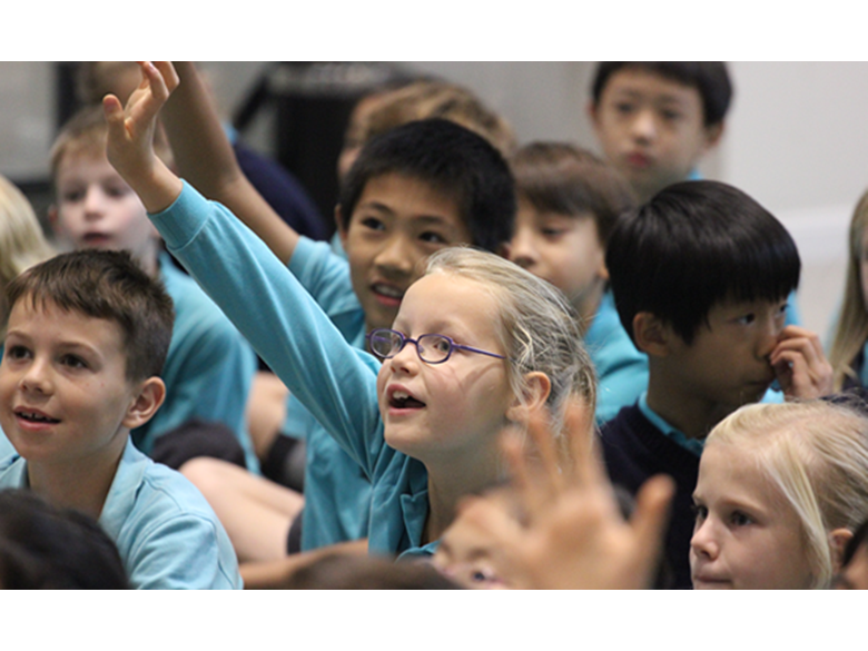 Storyteller Kate Corkery - The British International School Shanghai Puxi (Nord Anglia)