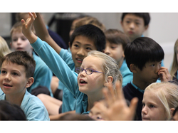 Storyteller Kate Corkery - The British International School Shanghai Puxi (Nord Anglia)