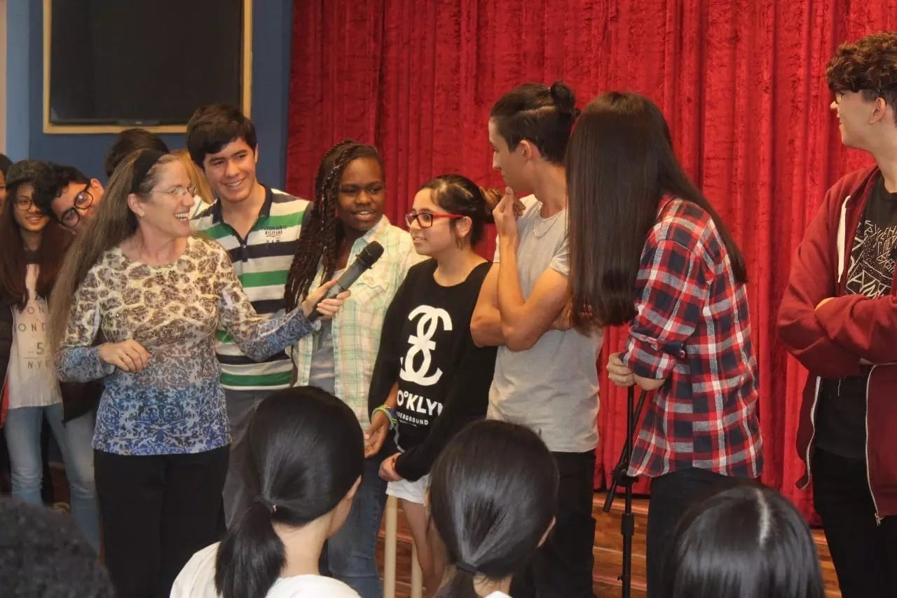 Storyteller Karen Golden - Alcanta International College (AIC) in Guangzhou