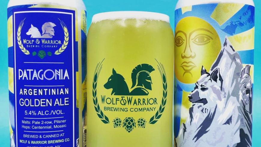 "Wolf&Warrior Brewery New York ""Patagonia"" アルゼンチン ゴールデンエール"