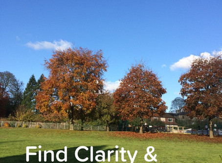 Take Time to Find Clarity!