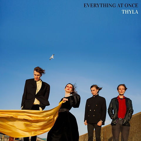 The official artwork for Thyla's EP 'Everything At Once'