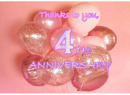 4th Anniversary!!!!!!!