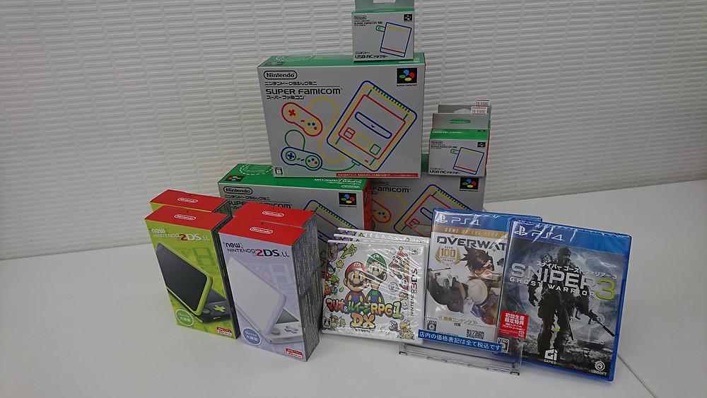 ニンテンドークラシックミニ スーパーファミコンやNew 2DS LL新色、マリオ&ルイージRPG1 DXなど