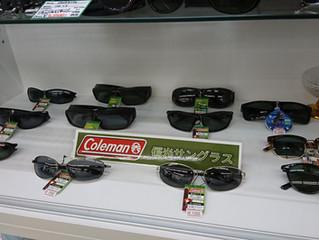 Colemanの偏光サングラス入荷。