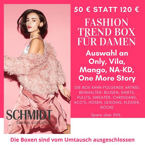 Fashion Trend Box für Damen: Only, Vila, Mango, NA-KD, One More Story