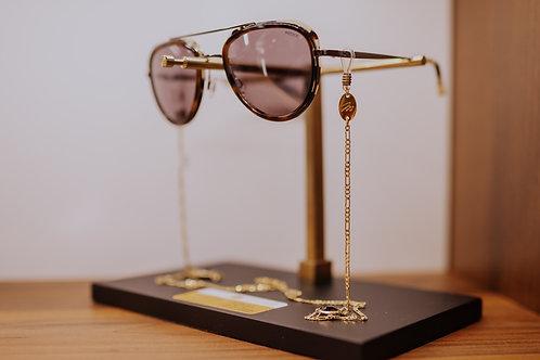 Brillenkette mit Gemstone Anhänger