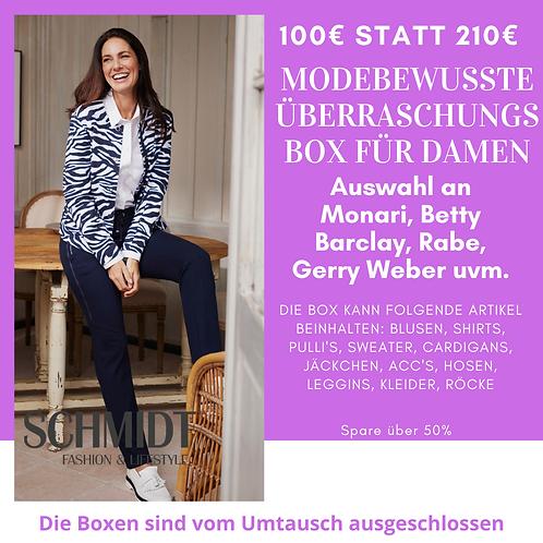 Modebewusste Überraschungsbox für Damen: Monari, Betty Barclay, Rabe,Gerry Weber