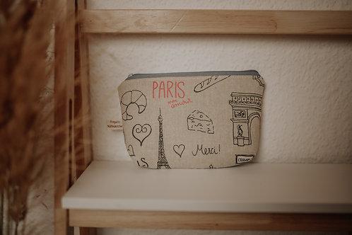 """Kosmetiktasche """"Little Paris"""""""