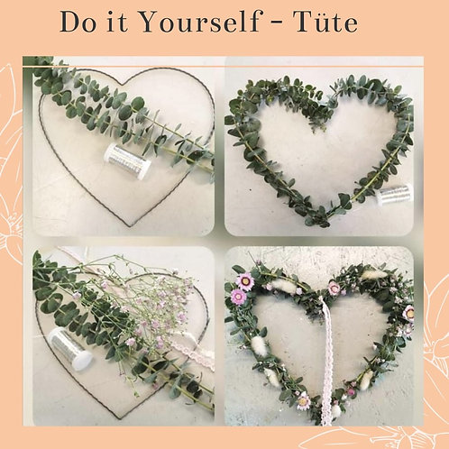 DIY Blumen-Tüte