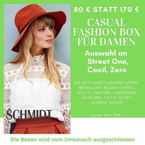 Casual Fashion Box für Damen: Street One, Cecil, Zero