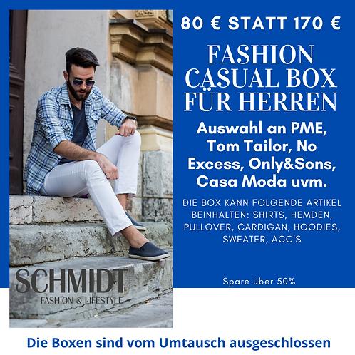 Fashion Casual Box für Herren: PME, Tom Tailor, No Excess, Only&sons, Casa Moda