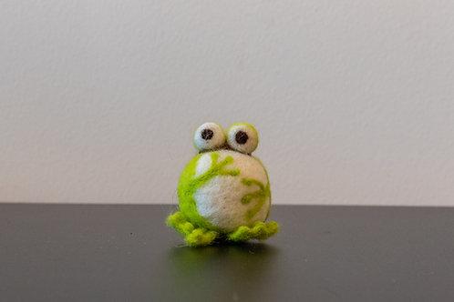 Frosch, sitzend