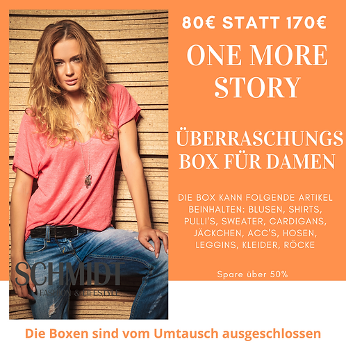 One More Story Überraschungsbox für Damen