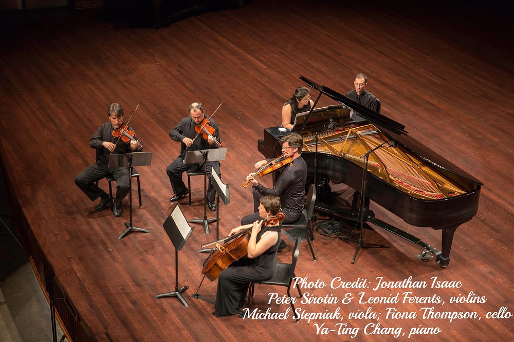 9/11 Memorial Concert at Messiah College, Parmer Hall: Brahms Piano Quintet. Photo Credit: Jonathan Isaac