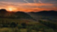 Sunset, Tuscany