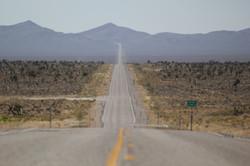 Road to Area 51 In Rachel Nevada