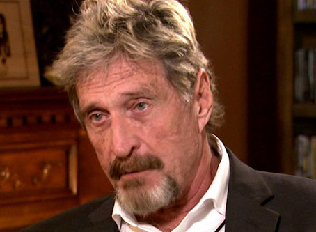John McAfee Doubles Down on Bitcoin Bet to Cannibalize Himself