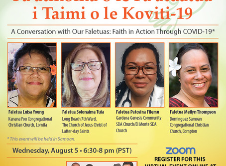 A Conversation with Our Faletuas: Faith in Action Through COVID-19
