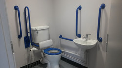 Disability compliant WC