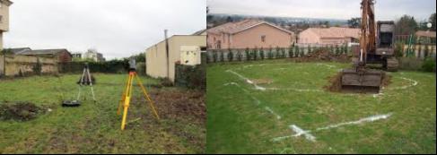 Implantation et terrassement