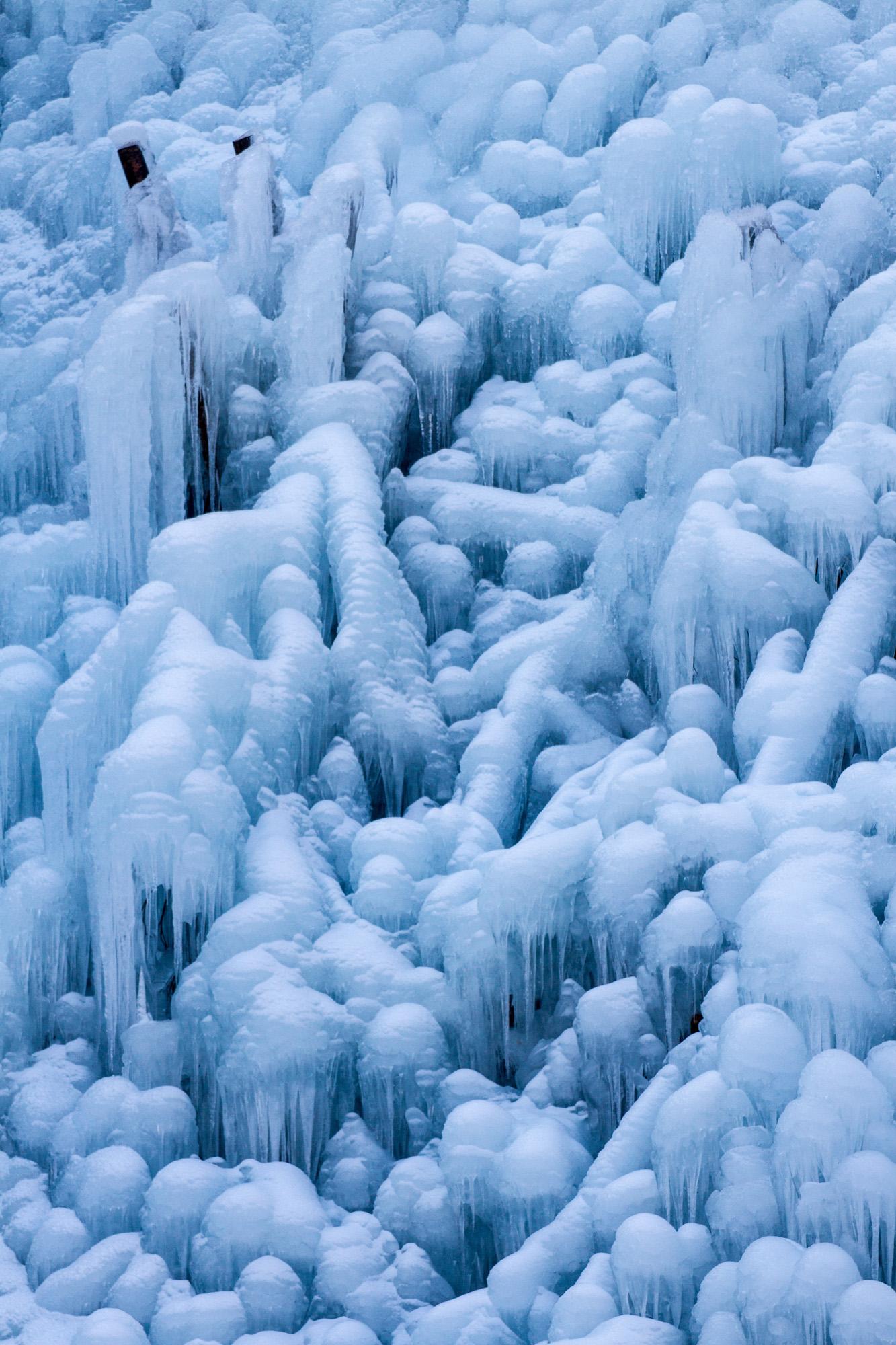 凍てつきの造形 Ⅳ