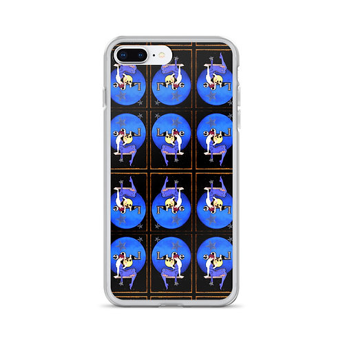 Full Moon Art Deco Flapper iPhone Case Reflections of Life