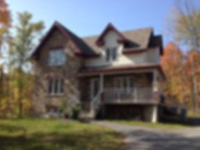 Cottage toit habitable
