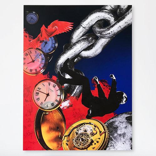 """Timescape - 36x48"""""""