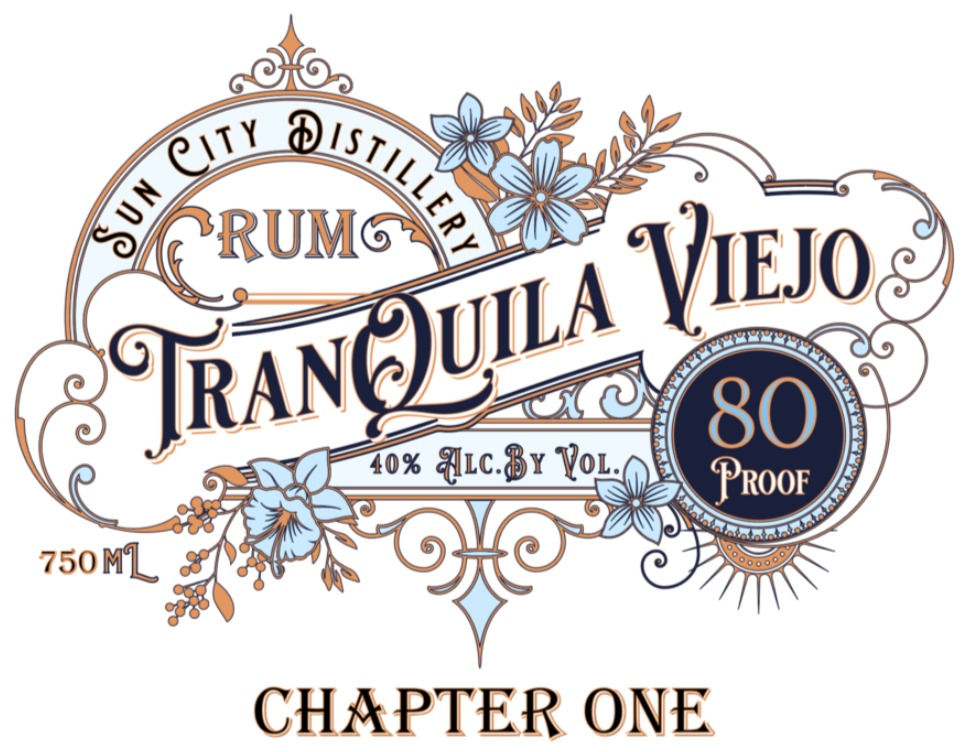 Tranquila Viejo Rum 80proof
