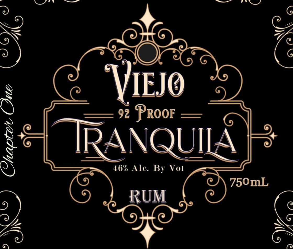 Tranquila Viejo Rum 90proof