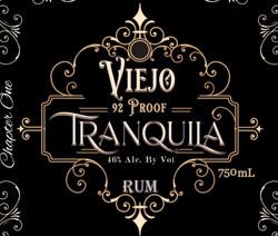 Tranquila Viejo Rum 90proof