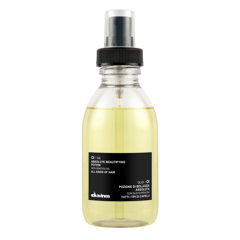 Benefits: extraordinary shine and softness to the hair strong detangling and restructuring action anti-frizz effect strong anti-oxidant and anti-free radicals action Carbon-neutral/Zero Impact Product