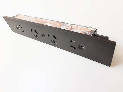 XYNERGY Below Desk Power Tile with 4x GPO