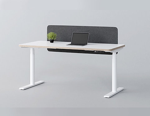 Jive Electric Height Adjustable Standing Desk (White)