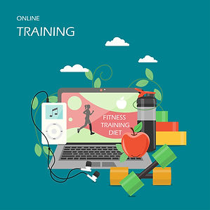 bigstock-Online-Training-Vector-Flat-St-